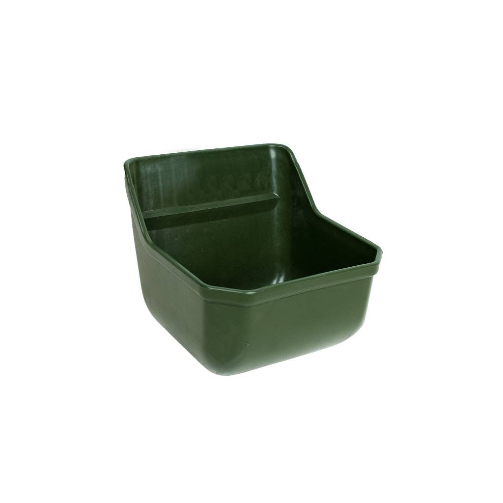HorZe Flat Back Wall Feed Trough