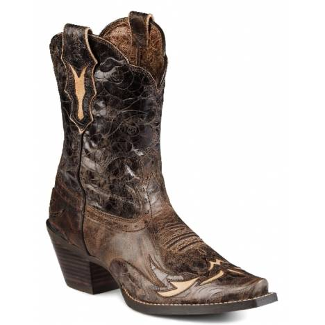Ariat Womens Dahlia Boot - Silly Brown Chocolate Floral