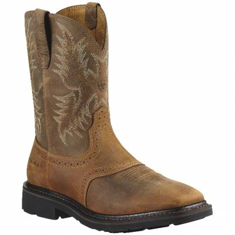 Ariat Mens Sierra Square Toe Safety Toe Boot