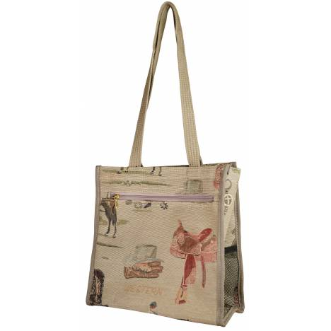 Western Tapestry Carry-All Bag