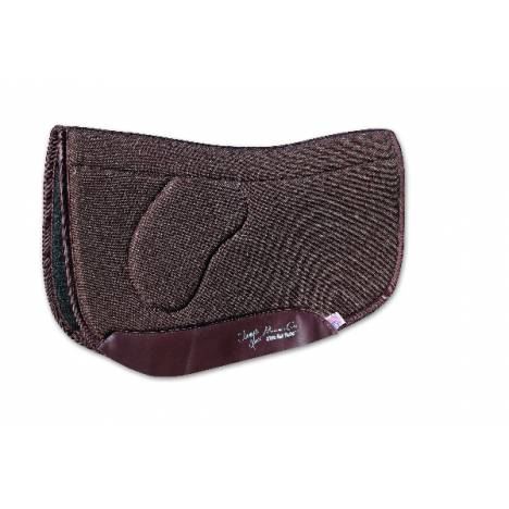 Charmayne James Felt Square OrthoSport Barrel Saddle Pad