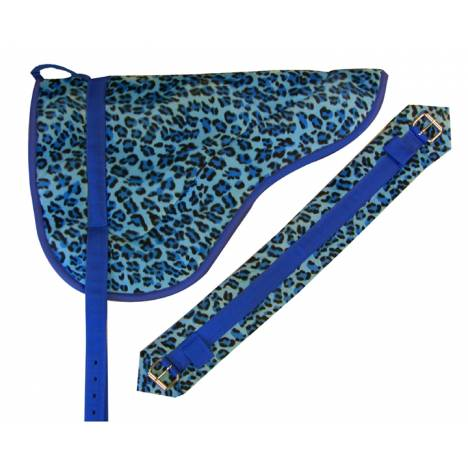Faux Color Animal Print Bareback Pads