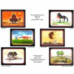 Jude Too Color Humorous Placemats - Set Of 6
