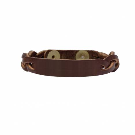 Perri's Braided Leather Bracelet