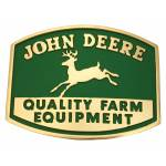 Montana Silversmiths John Deere Quality Farm Equipment Logo Attitude Belt Buckle