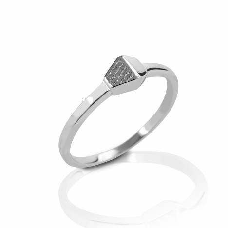Kelly Herd Horseshoe Nail Ring - Sterling Silver