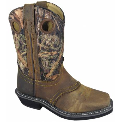 Smoky Mountain Youth Pawnee Leather Western Boot