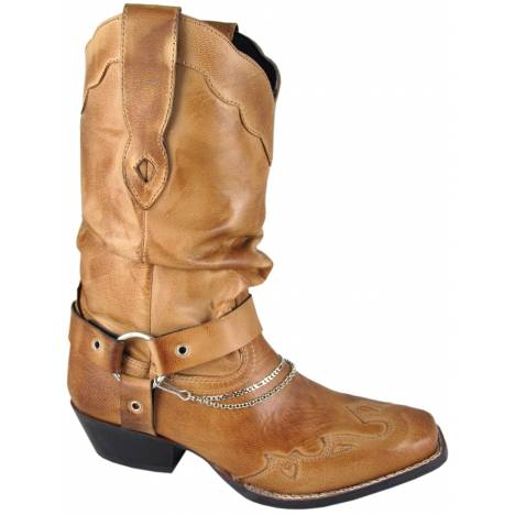 Smoky Mountain Womens Avalon Leather Western Slouch Boot