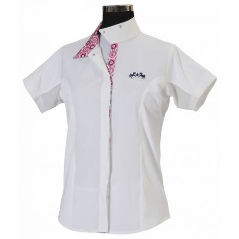 Equine Couture Kids Kelsey Short Sleeve Show Shirt