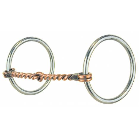 REINSMAN Stage A Medium Loose Ring Snaffle