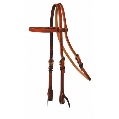 Reinsman Tied & Twisted Cowboy Browband Headstall