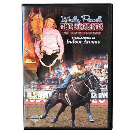 REINSMAN Molly Powell: The Secret To My Success Dvd, Volume II - Indoor Arenas