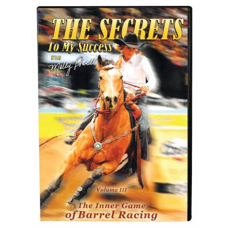 Molly Powell: Secret To My Success Dvd Vol III -The Inner Game Barrel Racing