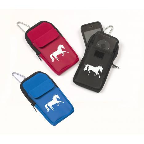 Running Horse Print iCase with Carabiner
