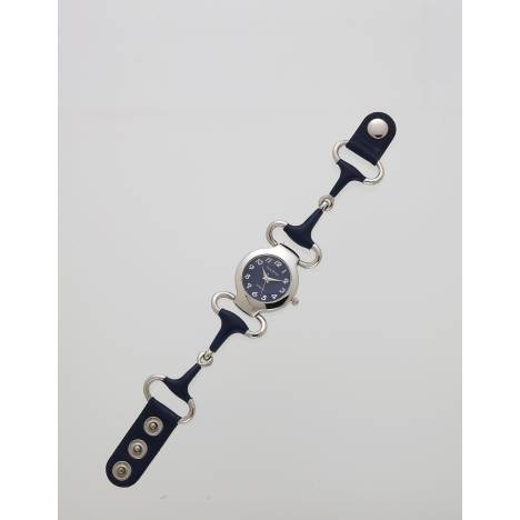Leather Covered Snaffle Bit Watch