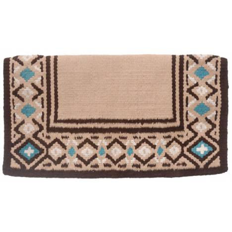 Tough-1 Diamond Wool Saddle Blanket