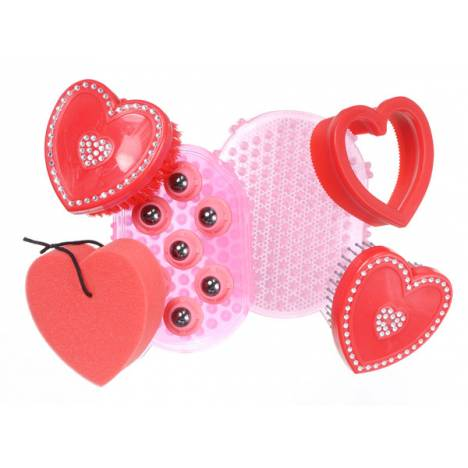 Tough-1 6 Piece Grooming Kit - Hearts