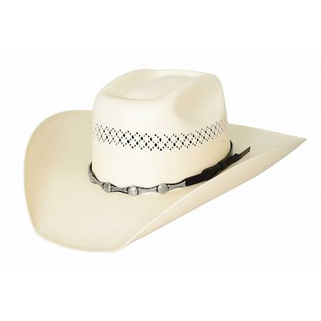 Bullhide Silver City 100X Traditional Western Straw Hat