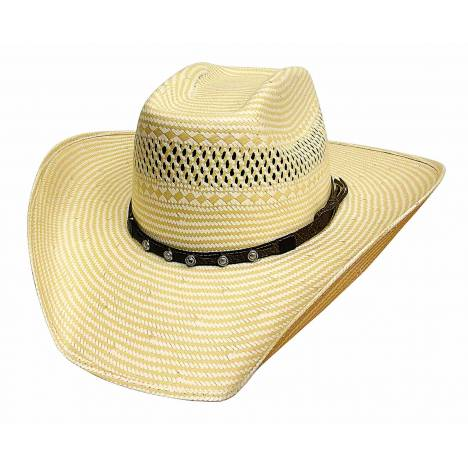 Bullhide Borrowed Time 50X Traditional Western Straw Hat