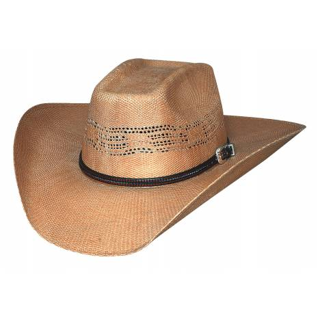 Bullhide Whiskey River 20X Traditional Western Straw Hat