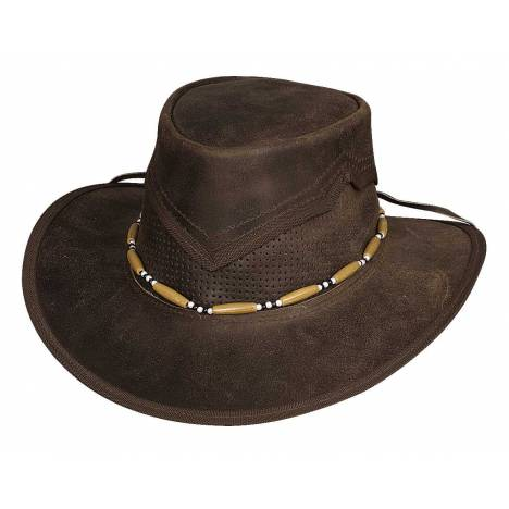 Bullhide Kanosh Down Under Leather Hat