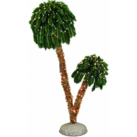 Double Lighted Palm Tree