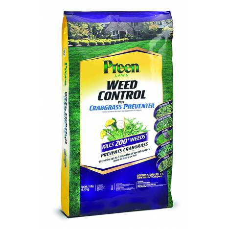 Preen Lawn Weed Control Plus Crabgrass Preventer