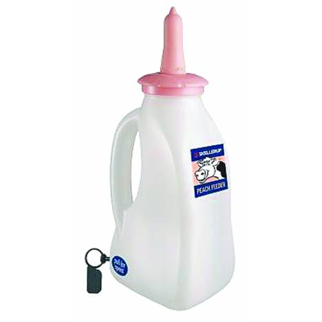 Peach Teat Handheld Bottle