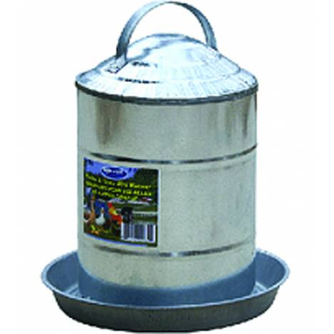 Galvanized Poultry Fountain