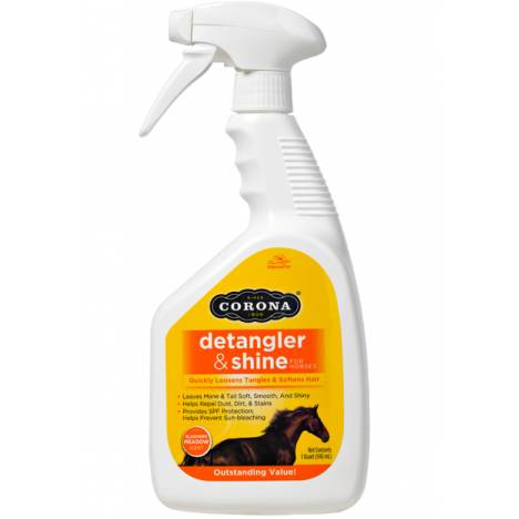 Manna Pro Corona Detangler and Shine For Horses