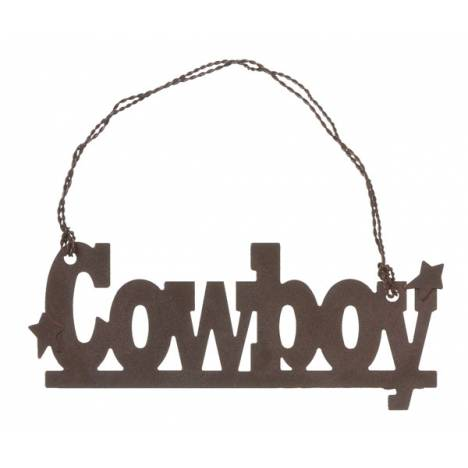 Gift Corral Ornament Cowboy
