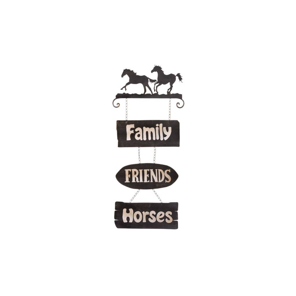 Gift Corral Horses Sign Family/Friends/Horses