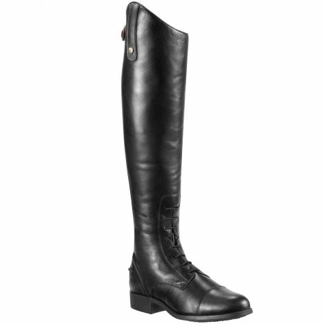 Ariat Ladies Heritage Contour Tall Field Boots - Black