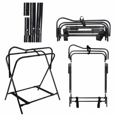 Tough-1 Breakdown Floor Saddle Rack