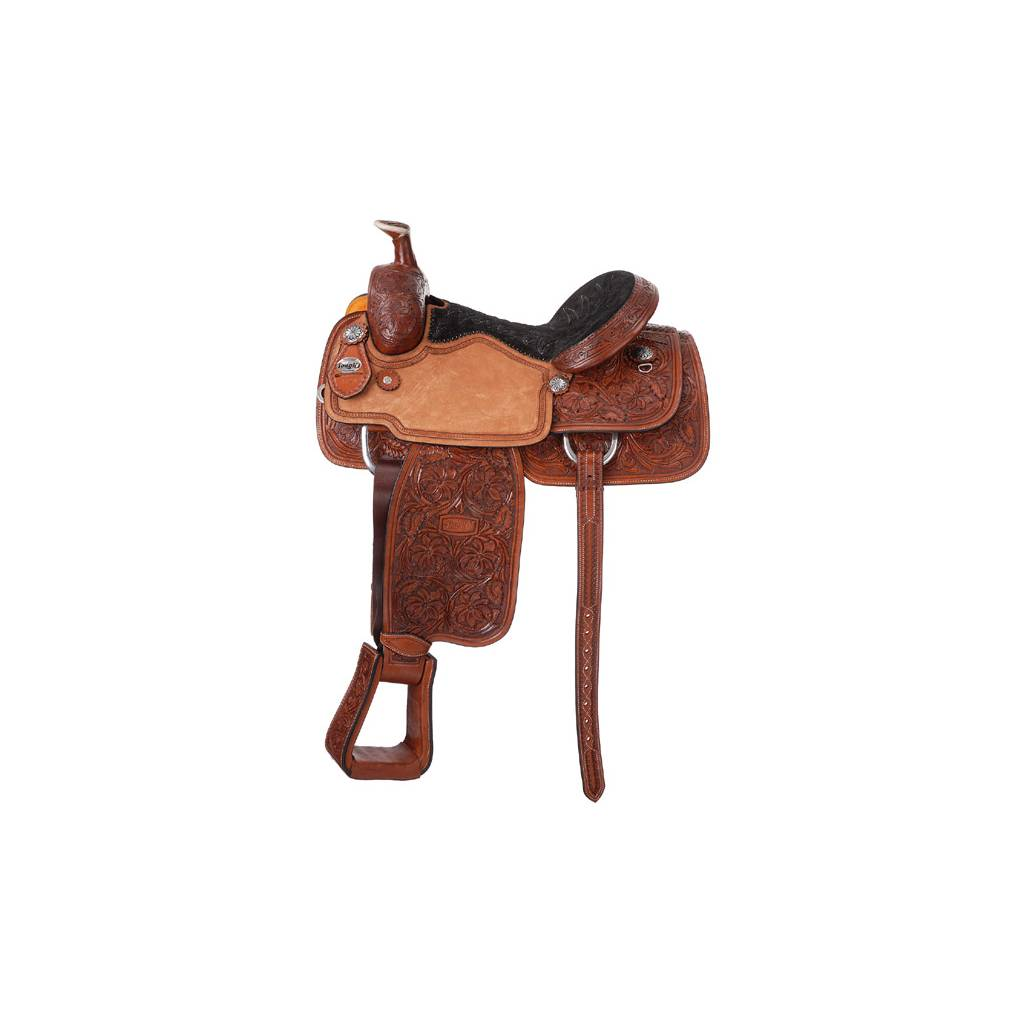 Silver Royal Premium Rising Star Calf Roper Saddle