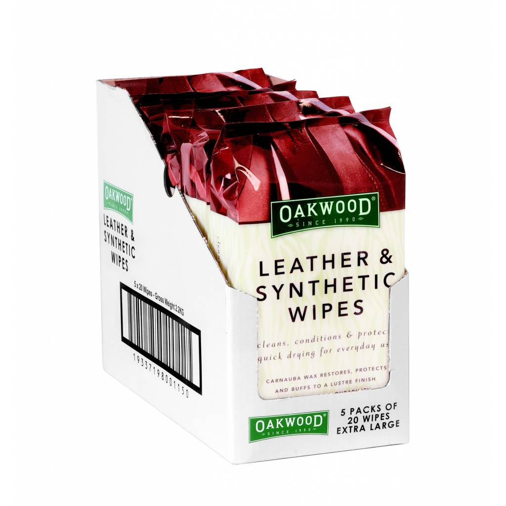 Oakwood Leather Wipes