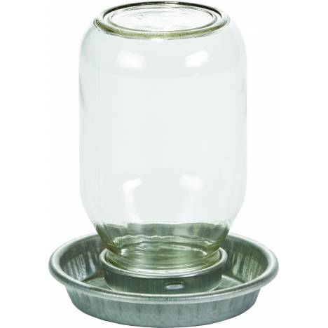 Mason Jar Baby Chick Waterer