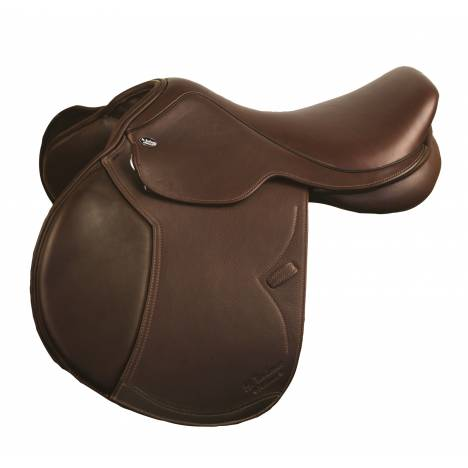 M. Toulouse Jeninne Platinum Dbl Leather Forward Flap Jumping Saddle