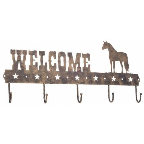 Gift Corral Welcome Sign Hook - Miniature Horse