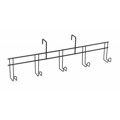 TACK ROOM ACCESSORY BRIDLE RACK BLACK TACK CLEANING HOOK 3 PRONGS