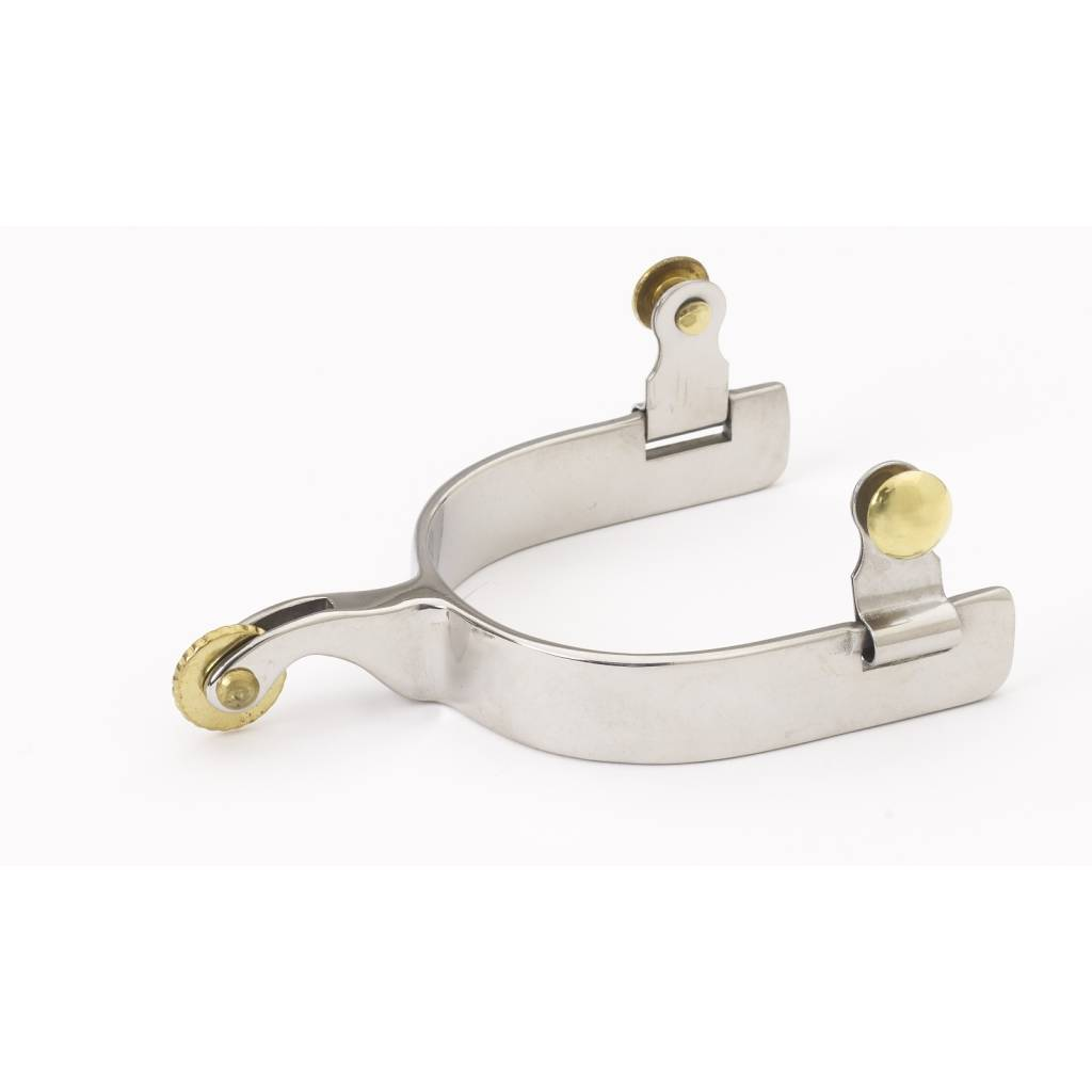 Turn-Two Equine Western D-Shank Round Spurs