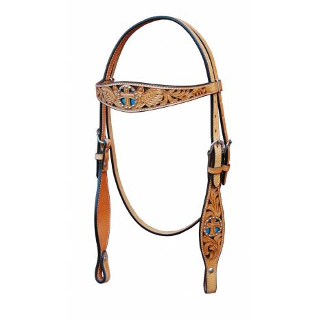 Turn-Two Equine St. Christopher Browband Headstall