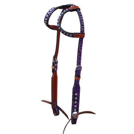 Turn-Two Equine Chasing Wild Double Ear Headstall