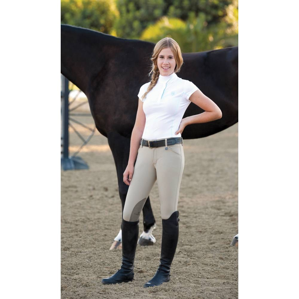Young british equestrian ushers old man 7