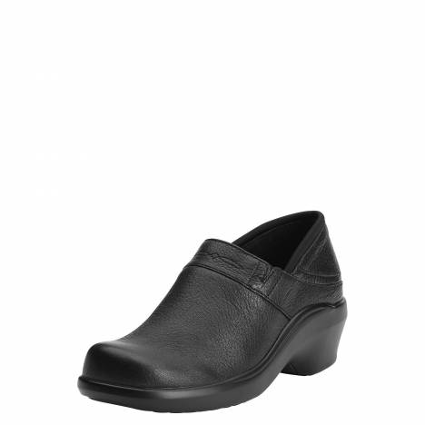 Ariat Ladies Santa Cruz Clog - Black Deertan