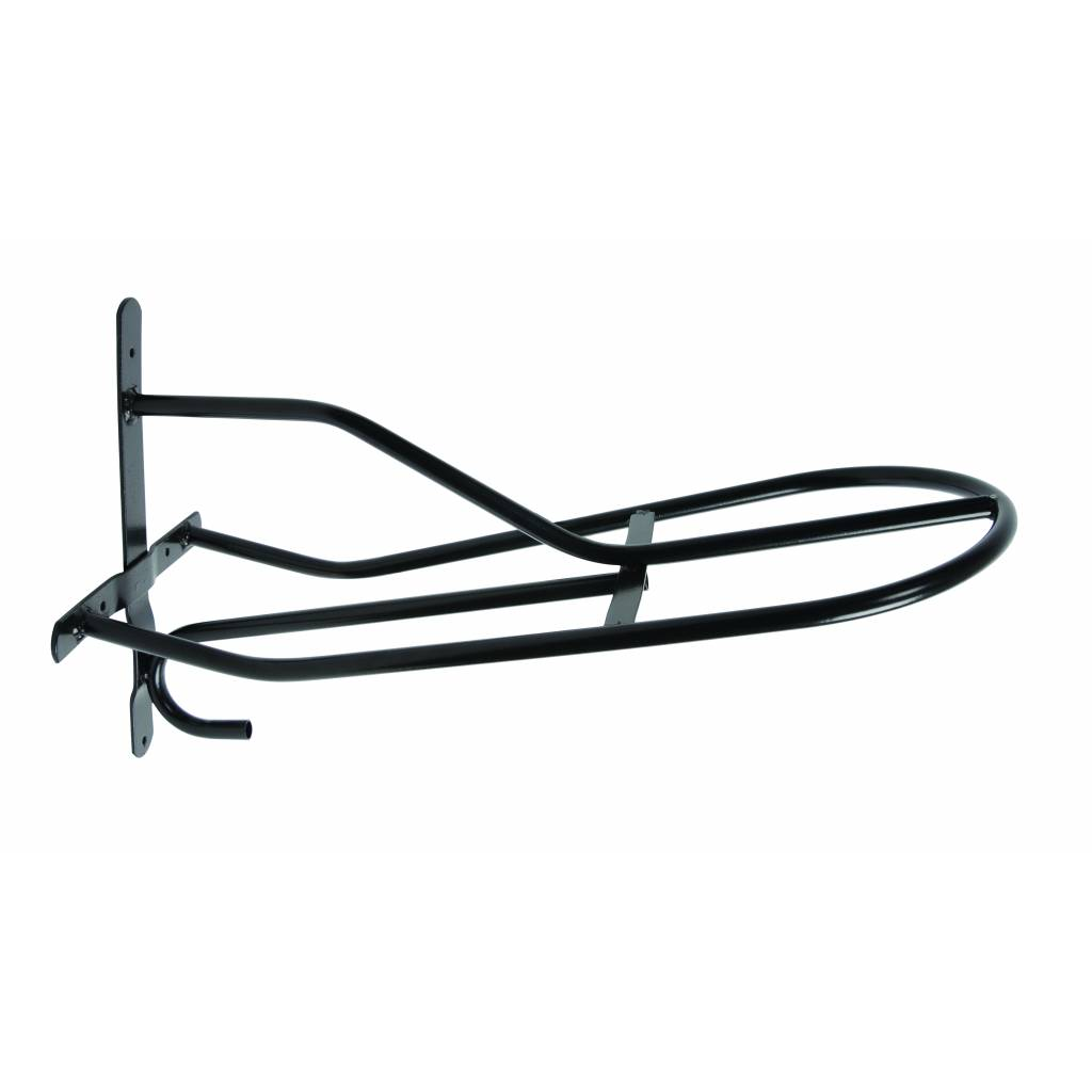 Roma Shaped Metal Saddle Rack