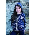 Horseware Girls Star Hoody Cardigan