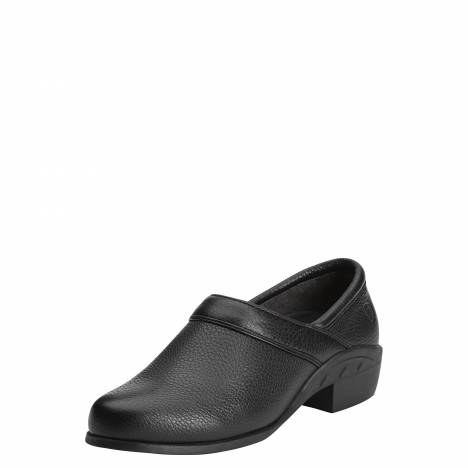 Ariat Ladies Sport Clog - Black Deertan
