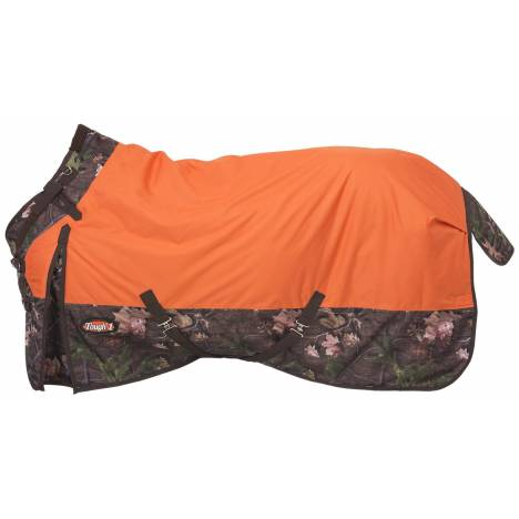Tough-1 1200D Waterproof Poly Snuggit Turnout Blanket - Tough Timber