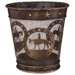 Gift Corral Small Waste Basket - Western Pleasure